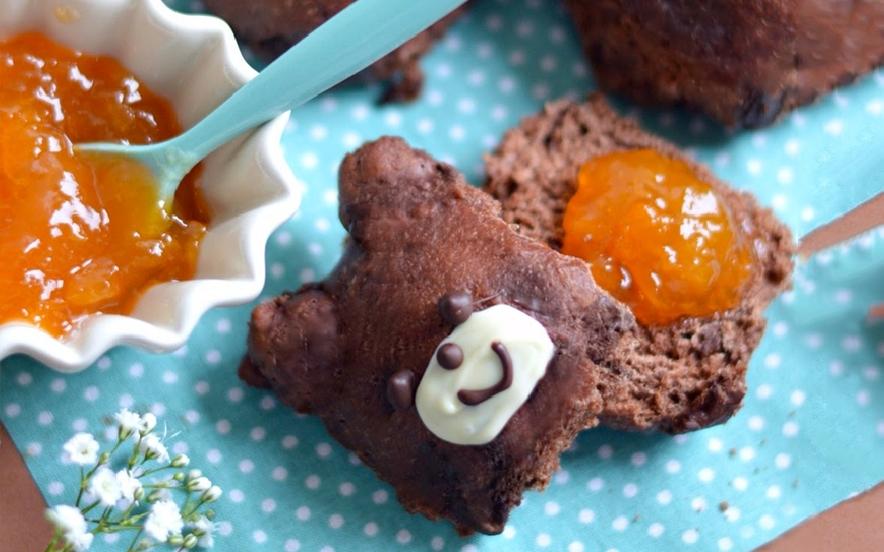 Panini orsacchiotti al cioccolato - Ricette di Manjoo.it